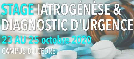 STAGE IATROGENESE & DIAGNOSTIC D'URGENCE